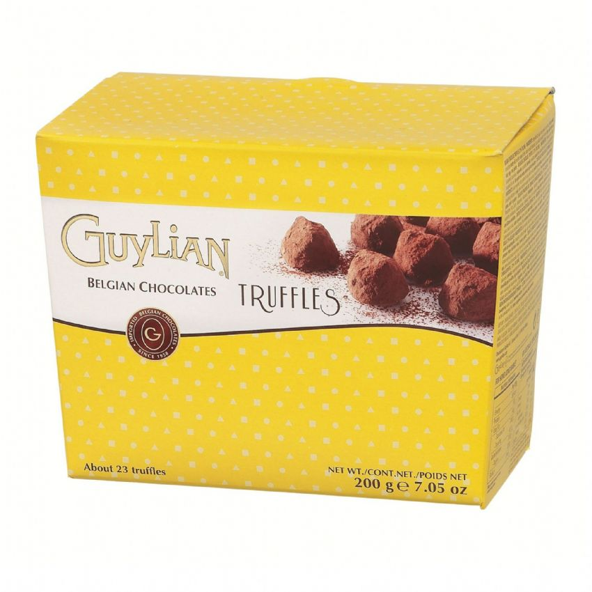Cocoa Dusted Truffles GUYLIAN Belgian Chocolates Box 200g